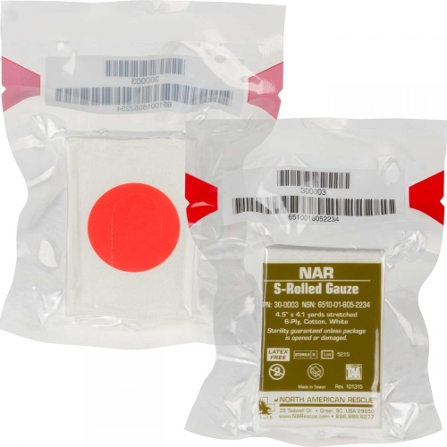 North American Rescue Gauze S-Rolled