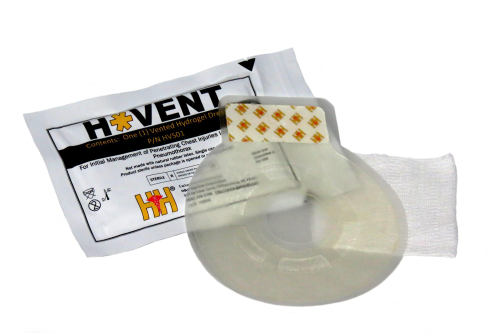 H* Vent Chest Seal, 2 Stk