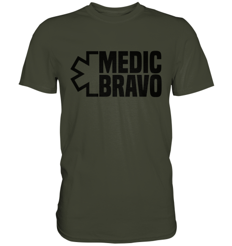 "Medic BRAVO Shirt ""Limited Edition"" XXL"
