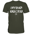 "Medic BRAVO Shirt ""Dying sucks"""